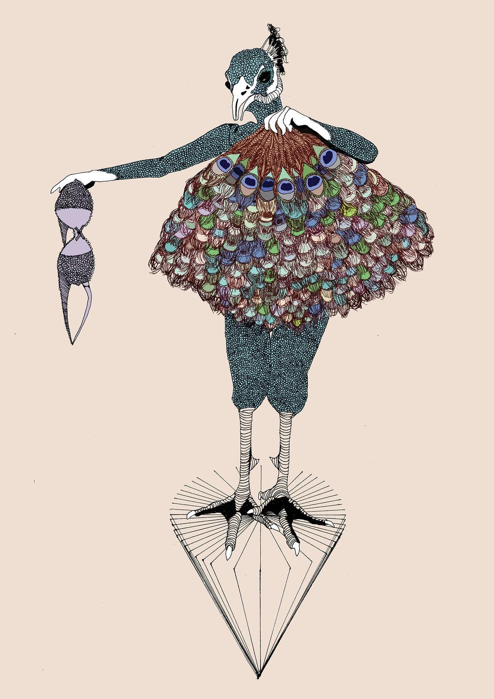 My original Blind Pig Illustration (2011)
