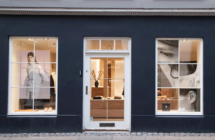 VISUAL MERCHENDISING & CURATION  NORSE PROJECTS WOMEN'S STORE 'AW 15