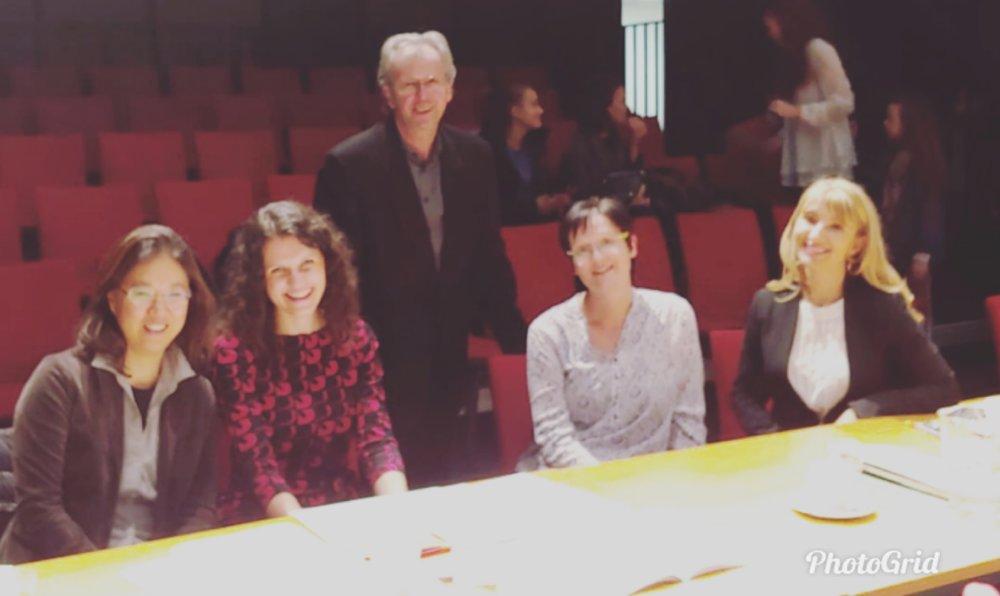 Fröhliche Jury nach so vielen schönen Darbietungen!