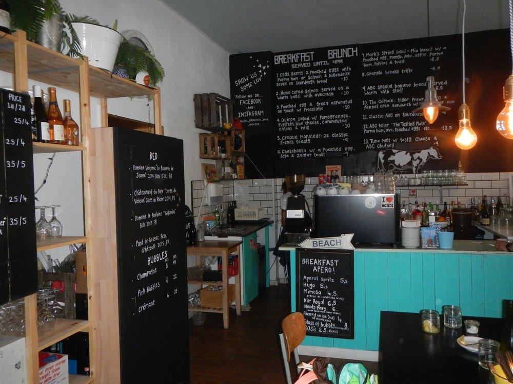 Allan's Breakfast Club | Dienstag geschlossen. Restliche Tage zur Zeit: 10:00 bis 15:00.