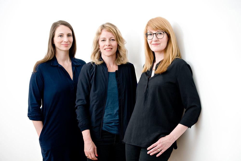 Berlin mit Kind - Die HIMBEER Gründerinnen Anja, Esther und Claudia