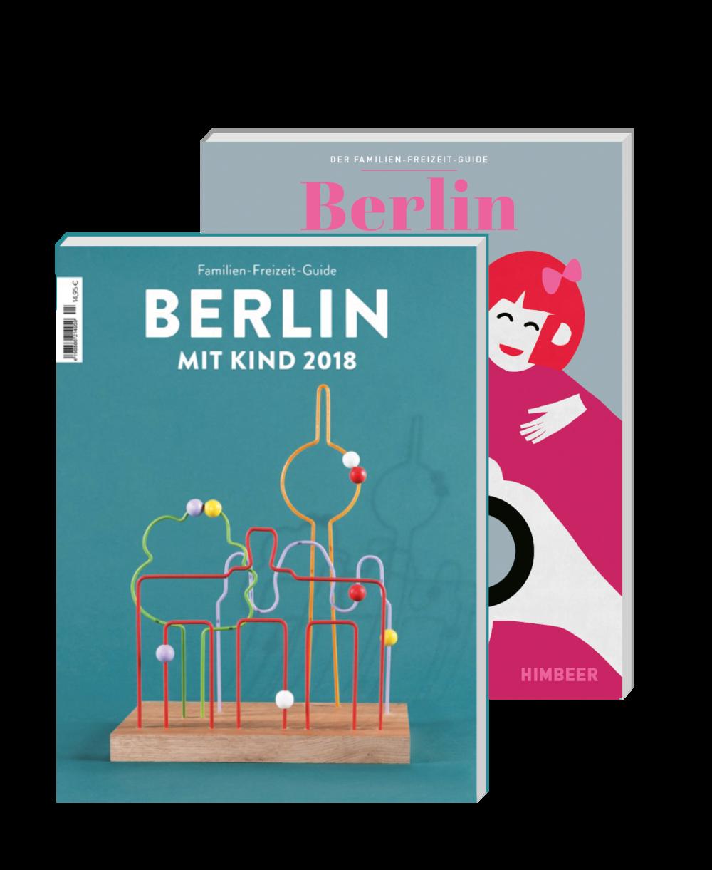 Berlin mit Kind No. 7 – der Familien-Freizeit-Guide aus dem HIMBEER Verlag.Mit den besten Tipps für spontane Unternehmungen mit Kindern. Für jedes Alter, Interesse und Wetter. -