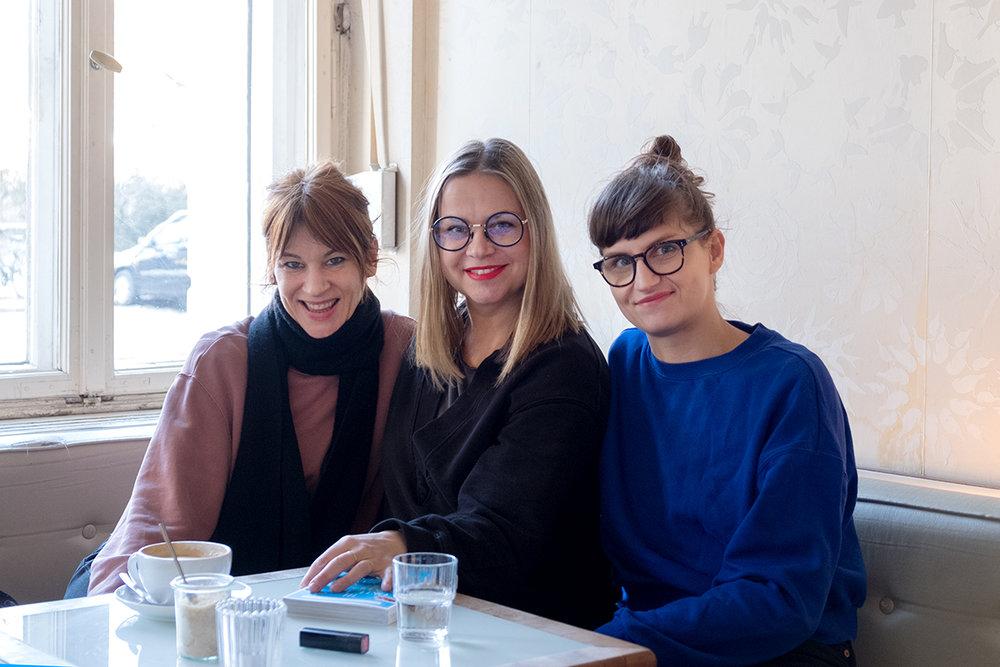 Das team - Natascha Korol, Isa Grütering, Theresia Koch