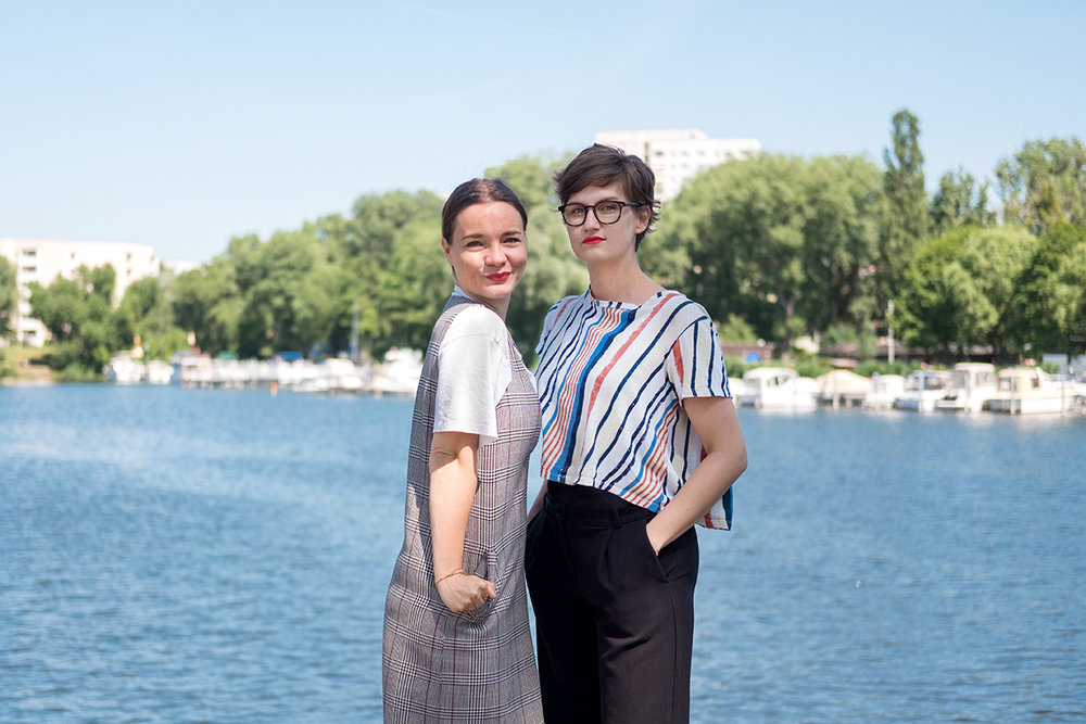 Das Team von POLA Potsdam: Carolin Jähnig und Theresia Koch