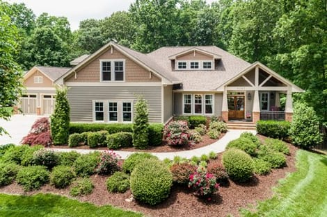 front-aerial-homepage-lake-norman-property