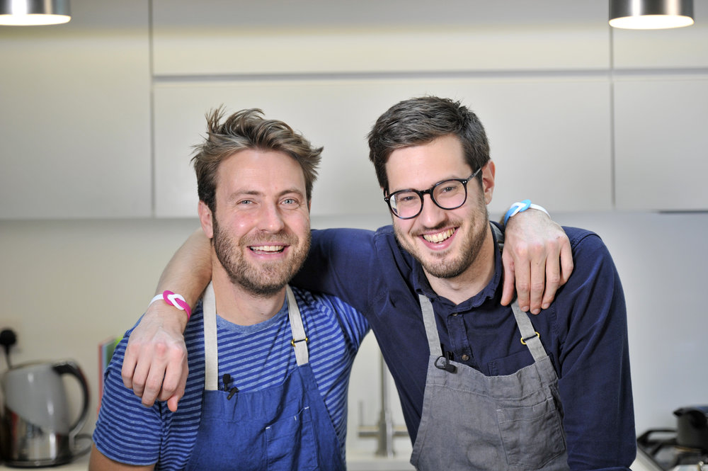 Billy and jack, masterchef UK contestants, winners of masterchef, brain tumour fighter, healthy eating, supper club