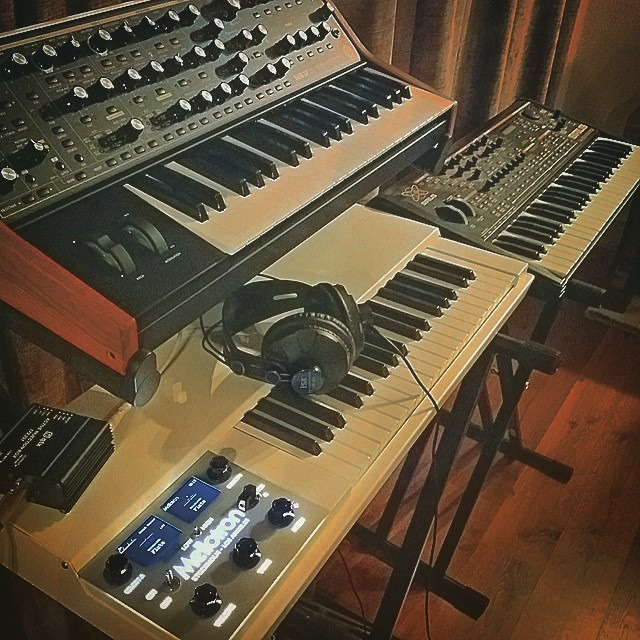 Got the chance to work with some incredible vintage keyboards during the Birds With Masks sessions