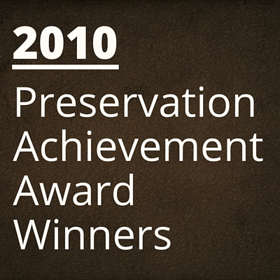 2010 NH Preservation Alliance Awards Winners