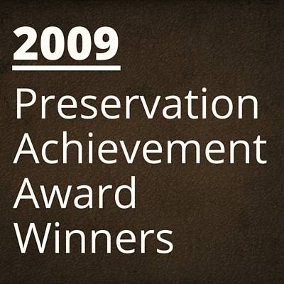 2009 NH Preservation Alliance Awards Winners