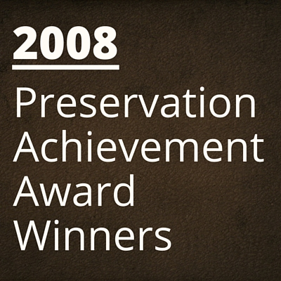 2008 NH Preservation Alliance Awards Winners