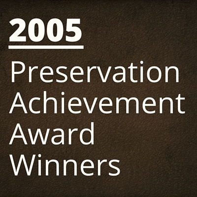 2005 NH Preservation Alliance Awards Winners