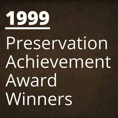 1999 NH Preservation Alliance Awards Winners