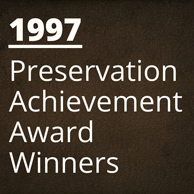 1997 NH Preservation Alliance Awards Winners