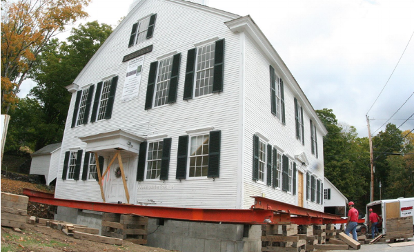 The award-winning Langdon Meetinghouse restoration benefited from LCHIP grants.