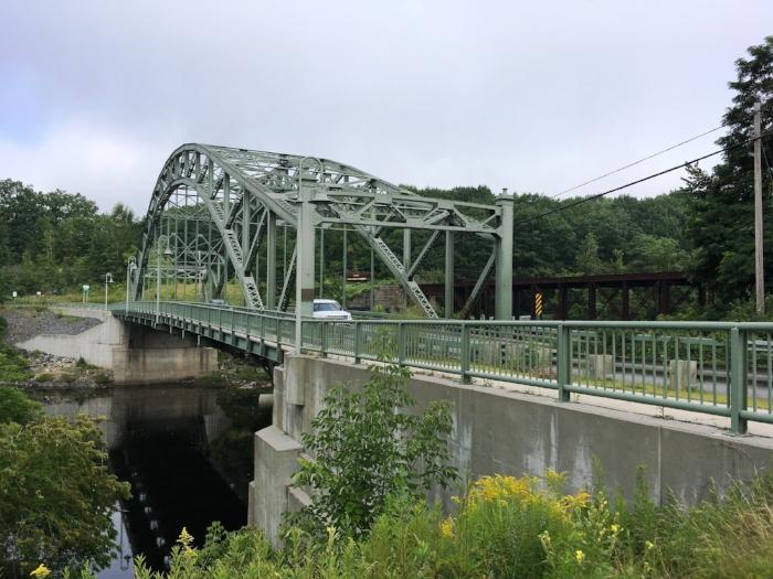 Vietnam Memorial Bridge, Woodsville.