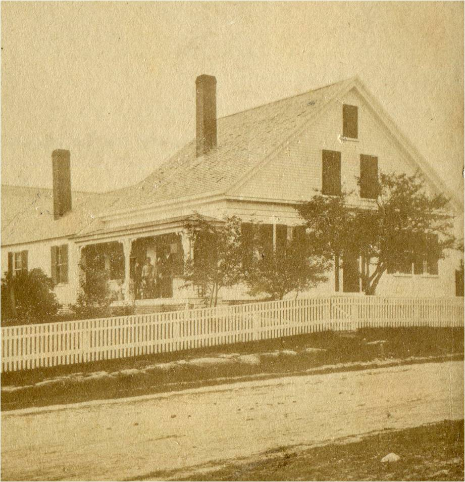The French House as it appeared before c.1900 renovations.