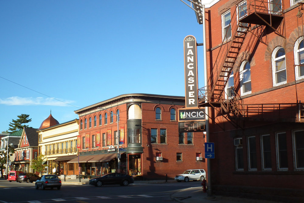 Lancaster's Main Street boasts great architecture and great local businesses.