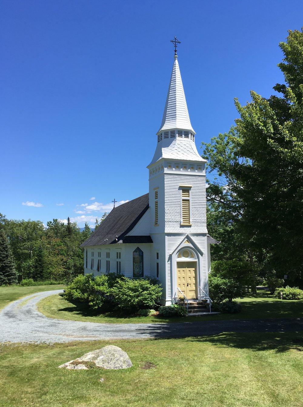 Sugar Hill's St. Matthew's Episcopal Chapel