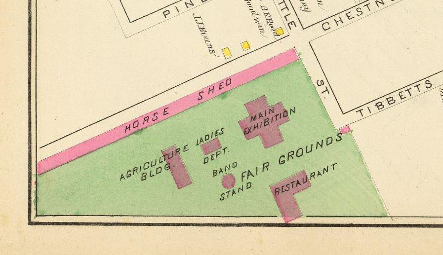 1892 Hurd Map.