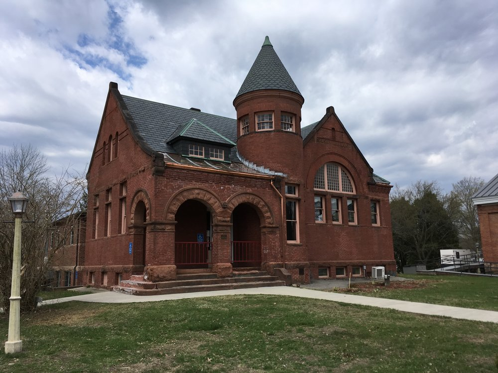 Charlestown's Silsby Library got its matching LCHIP funds for masonry repairs.