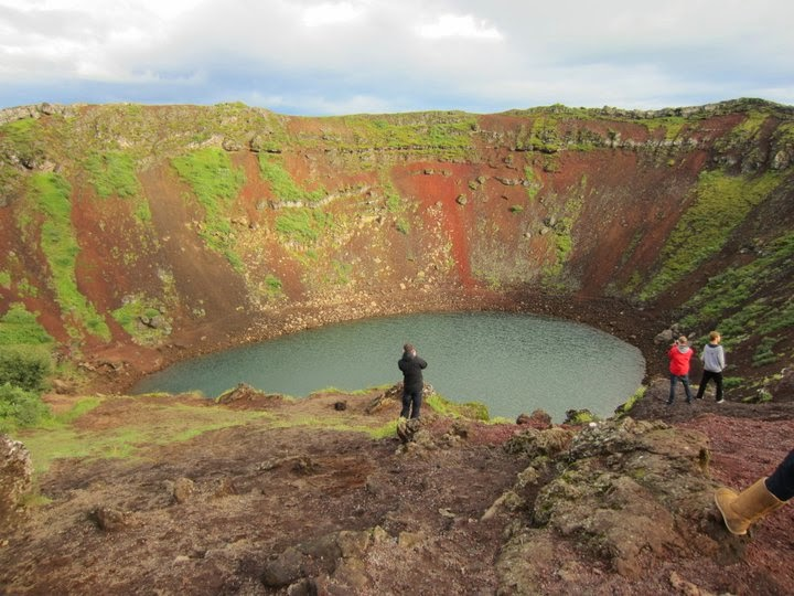 Meteor site in Iceland.