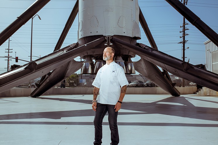 Ted Cizma | Executive Chef, Space X