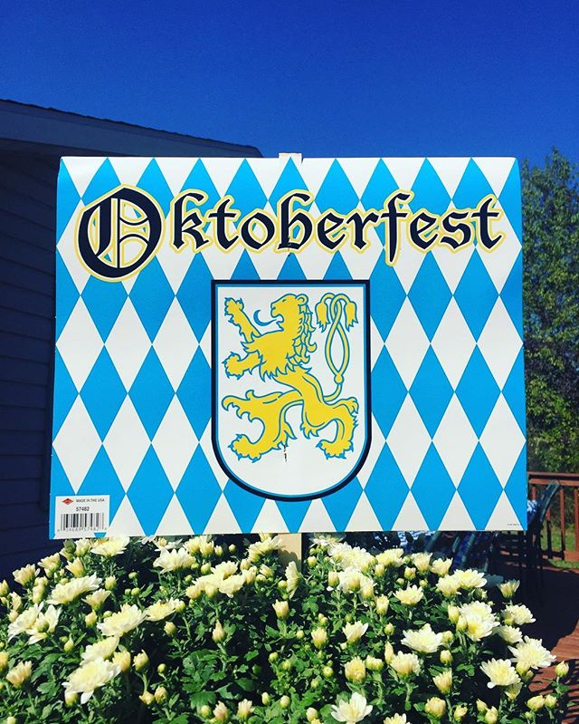 Perfect day for mom's Oktoberfest! #fall #family