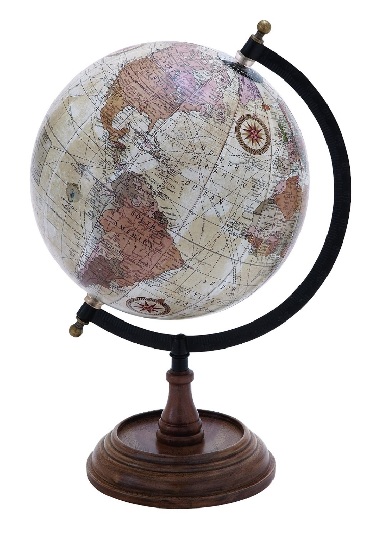 Old School Library Globe