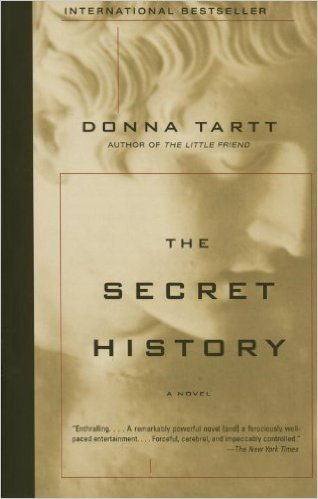 40. The Secret History by Donna Tartt