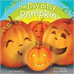6. The Itsy Bitsy Pumpkin by Sonali Fry