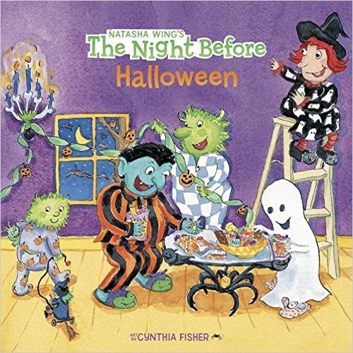15. The Night Before Halloween by Natasha Wing