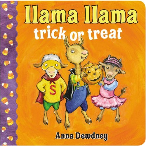 16. Llama Llama Trick or Treat  by Anna Dewdney