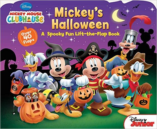 26. Mickey Mouse Clubhouse Mickey's Halloween by Disney http://amzn.to/2eAYCAU