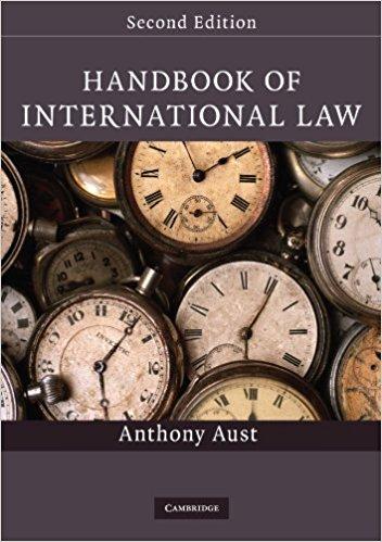 Handbook of International Law by Anthony Aust