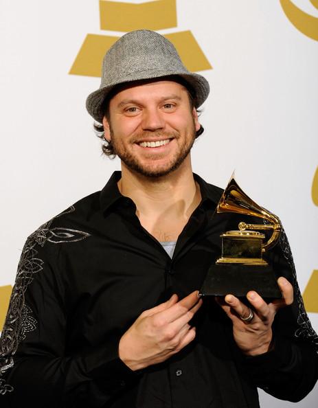 Tai Anderson winning Grammy Award