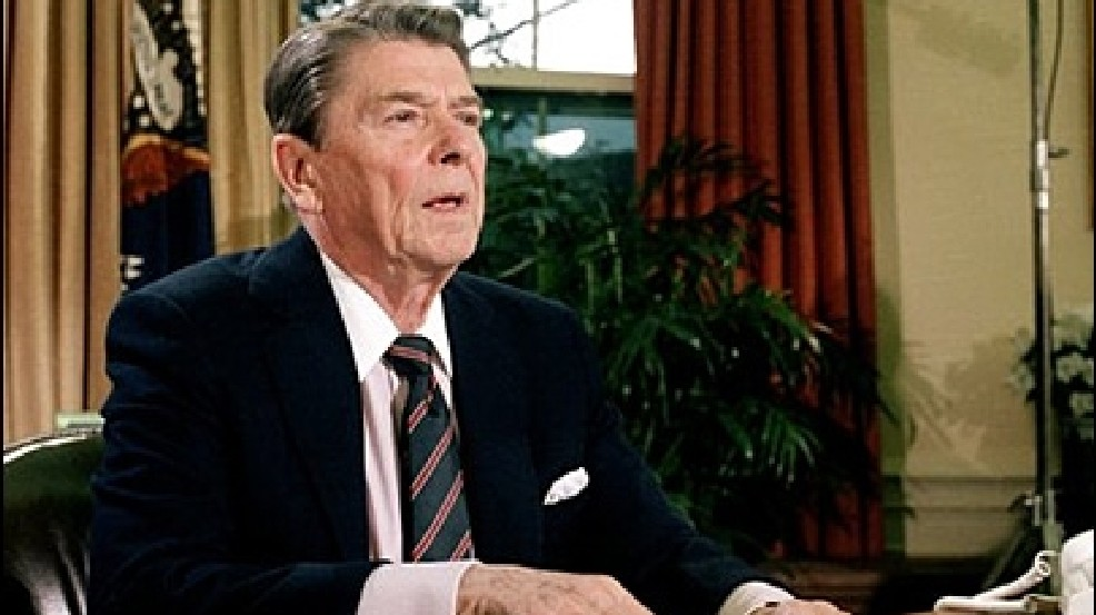 My first political memory was Ronald Reagan comforting the nation after the Challenger disaster.