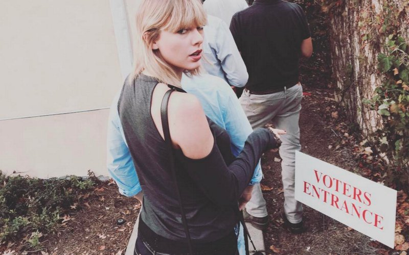 Even Taylor Swift encouraged us to vote.