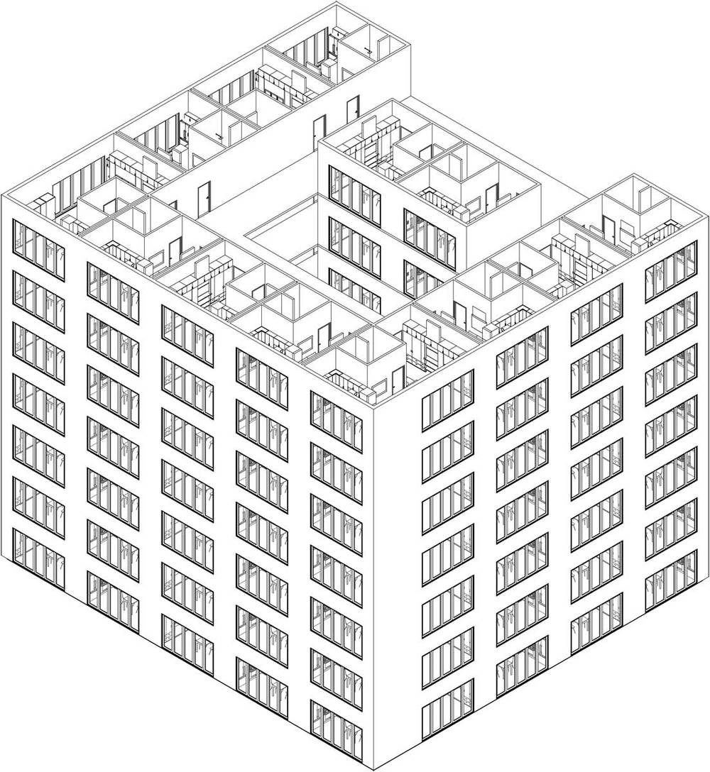 NYC Micro Dwellings Developing Upper Floor Development