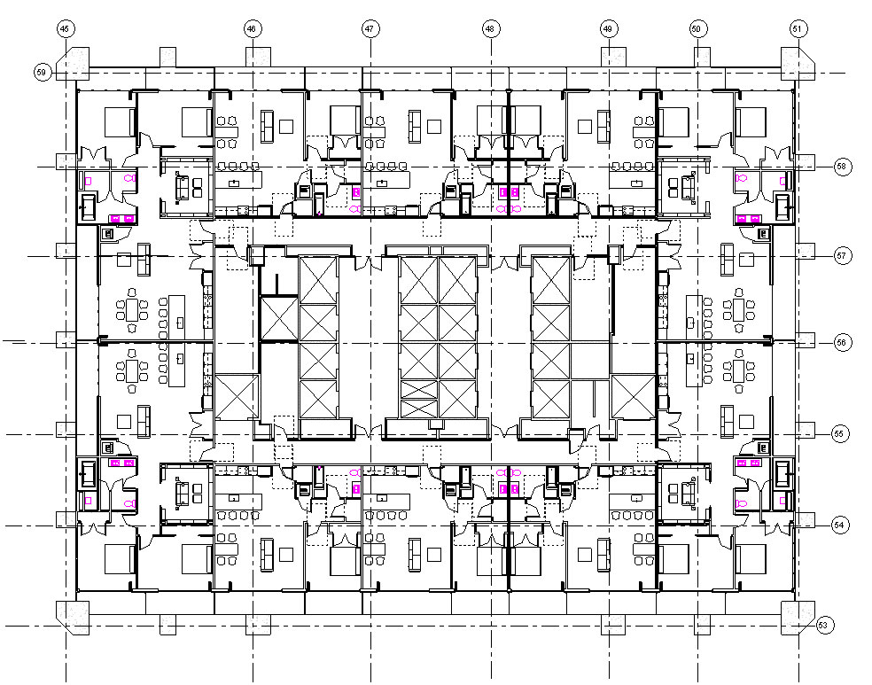 3x30-One Seneca Tower Progress Floor Plan