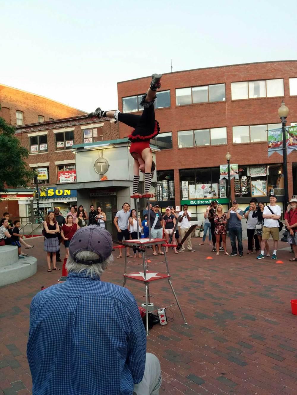 Boston Street Performance