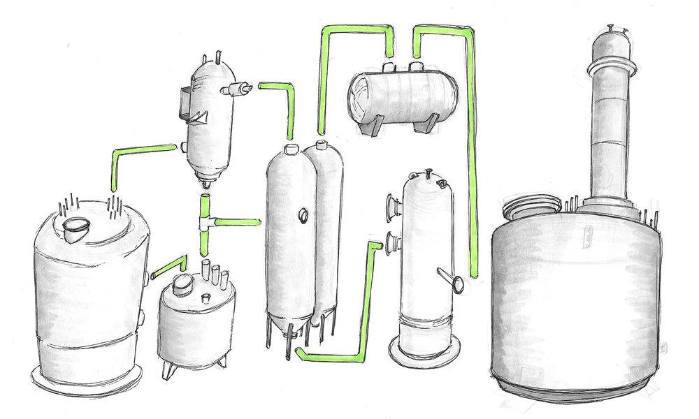 Algae Transesterification Process