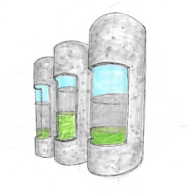 Algae Gravity Sedimentation Tank