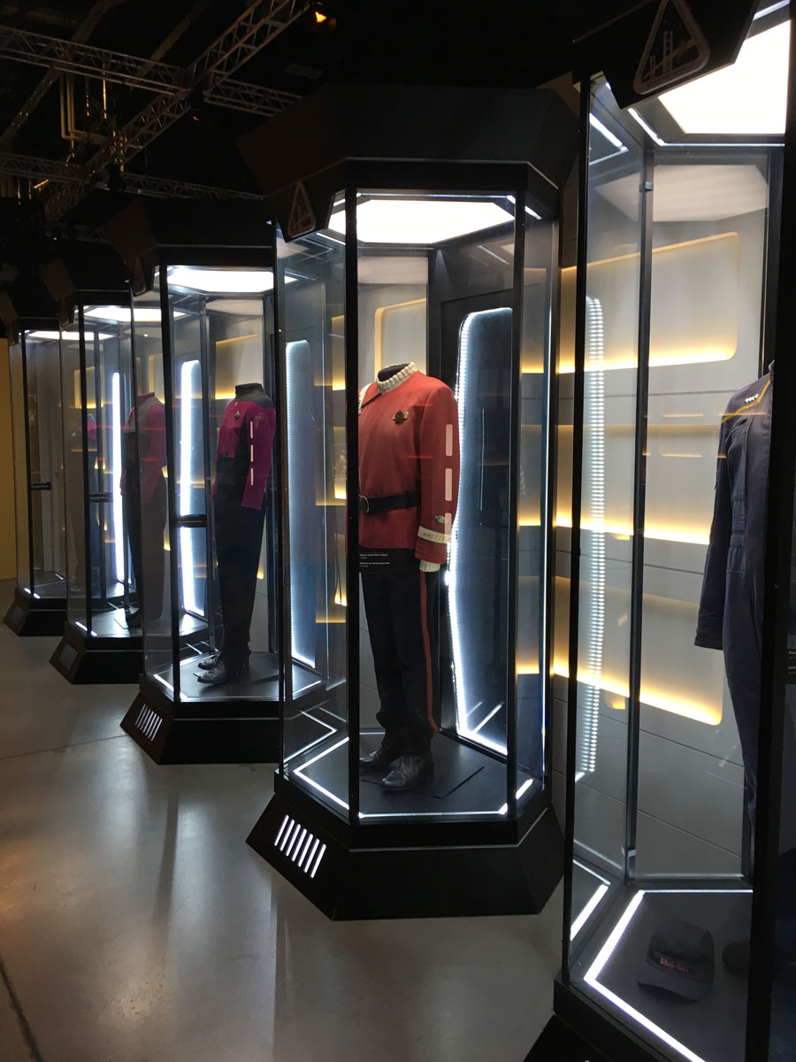 Star Trek Costumes at the Canada Aviation and Space Museum