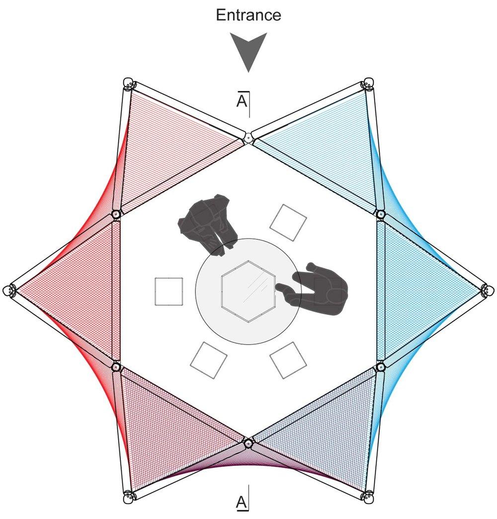 Ohr Sukkah Floor Plan