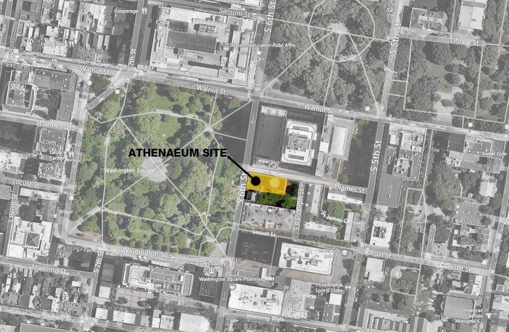 Athenaeum 2050 Site Plan