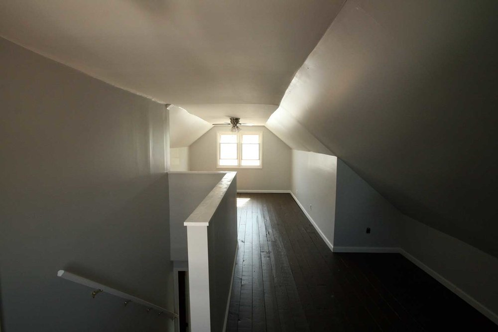 Attic renovation complete