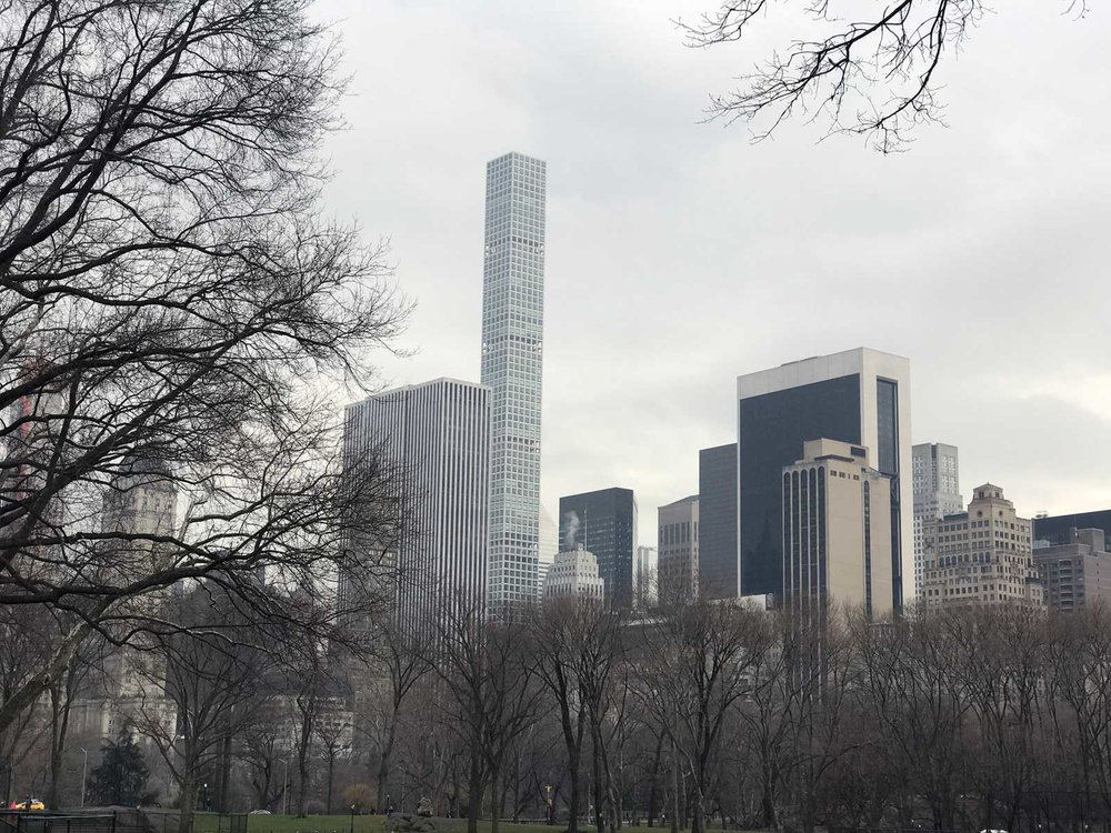 432 Park Avenue from Central Park
