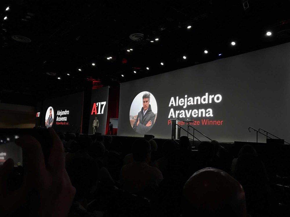 Alejandro Aravena Keynote