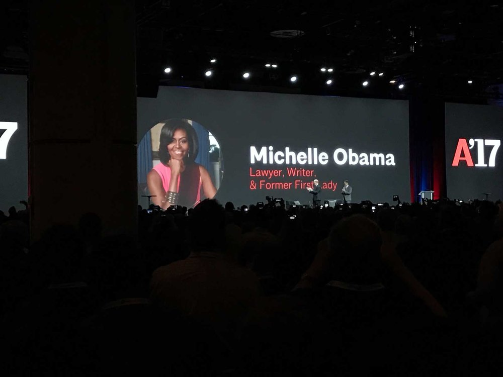 Conversation with Michelle Obama