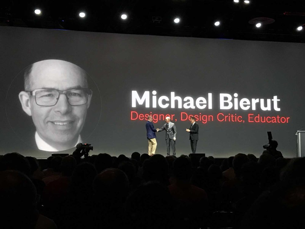 Michael Bierut at AIA 2017 Conference